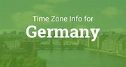 Time Zones in Germany