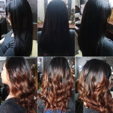 Cheveux Noir Meche Caramel Quel Balayage Pour Quelle Couleur De Base De Cheveux