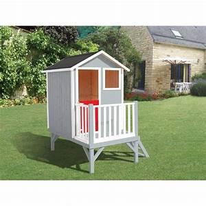 Cabane En Bois Pour Enfant : cabane en bois pour enfant sur pilotis louise achat ~ Dailycaller-alerts.com Idées de Décoration