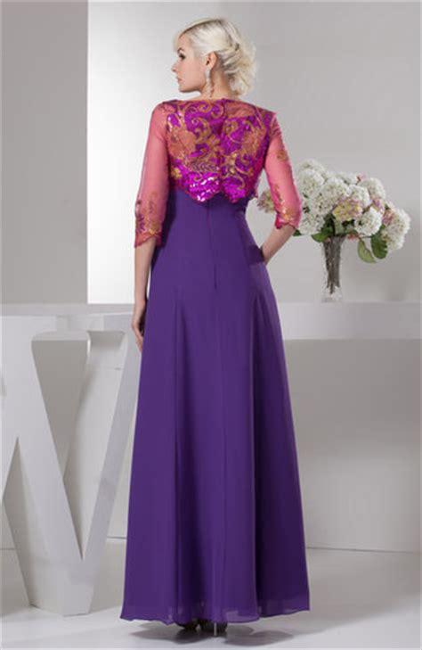 dark purple unique mother   bride dress inexpensive