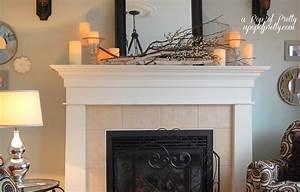 Late, Fall, Mantel, Decor, -, A, Pop, Of, Pretty, Blog, Canadian, Home, Decorating, Blog