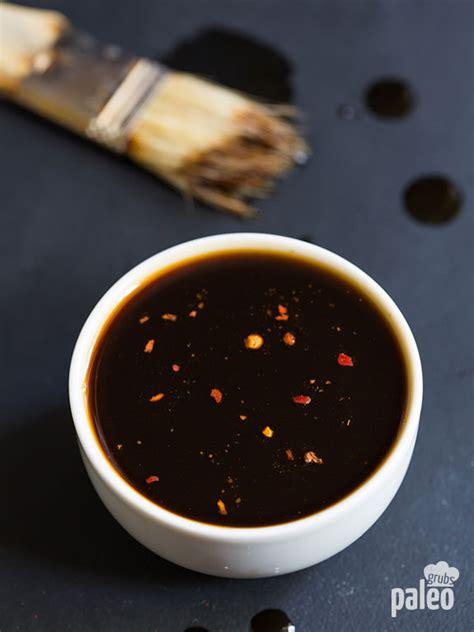 teriyaki sauce recipe homemade paleo teriyaki sauce paleo grubs