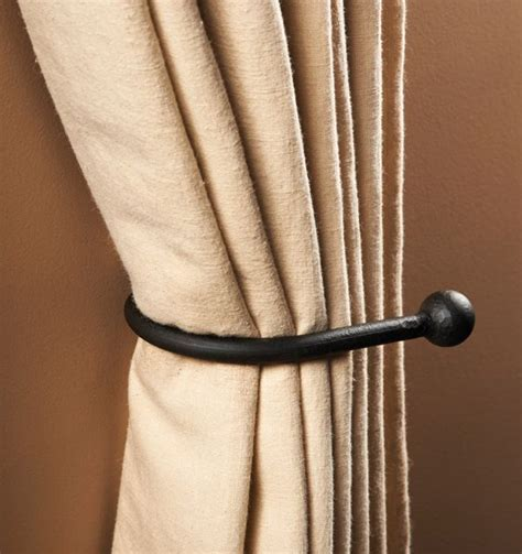 curtains ideas 187 curtain hook tie backs inspiring