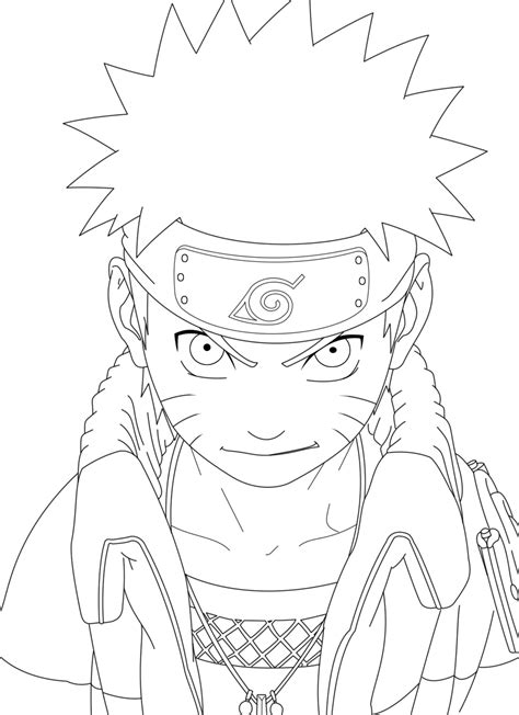 Naruto Lineart By Crazylz On Deviantart