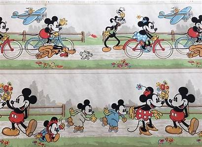 Goofy Disney Mickey Mouse Border Wallpapers 1936