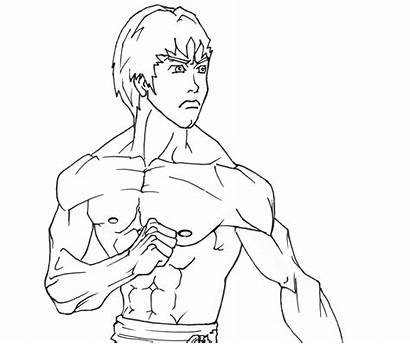 Bruce Lee Coloring Colouring