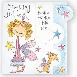 Happy Birthday Fairy Girl Card - Partyware & Essentials