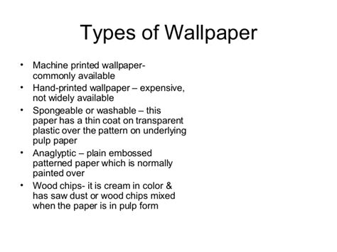 types of floor covering ppt wall covering