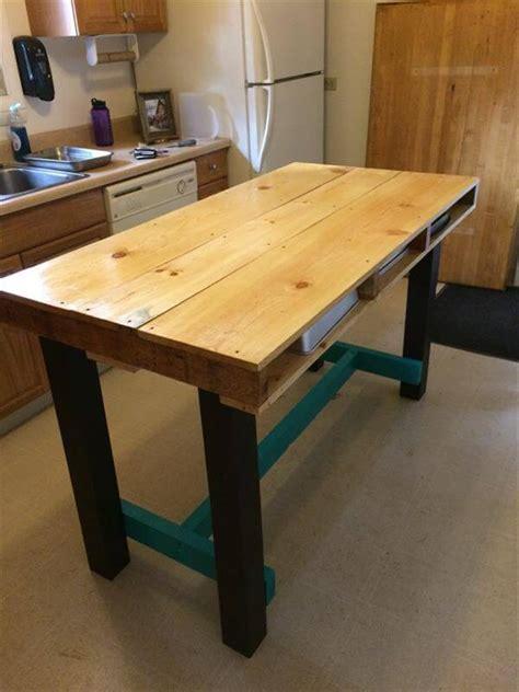 diy wood pallet kitchen table pallet furniture diy