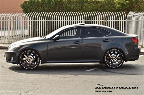lexus is 250 custom lexus is 250 custom wheels versante 212 22x8 0 et 38