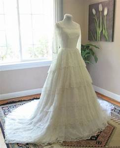 ahh i just won a 197039s vintage lace wedding dress off of With ebay vintage wedding dresses