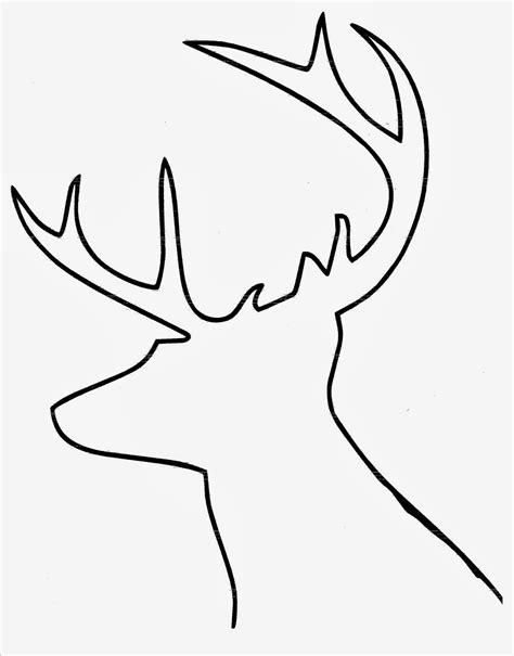deer template diy buffalo check reindeer hymns and verses