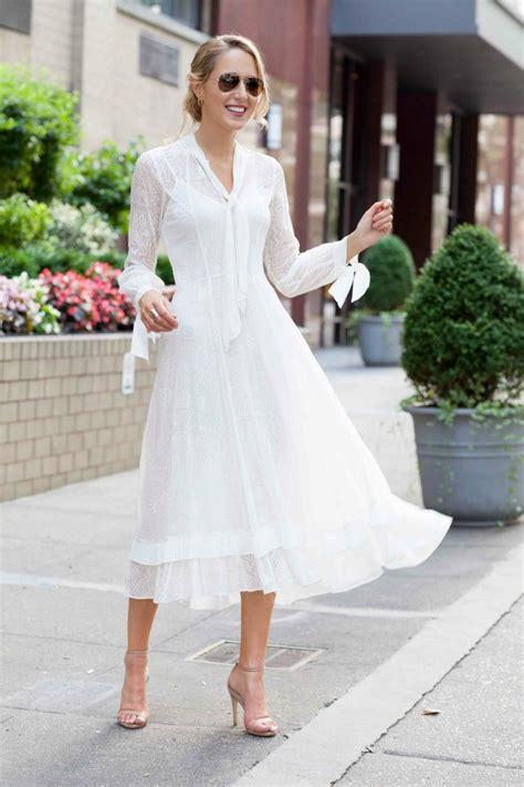 bridal shower dress lace midi dress ankle