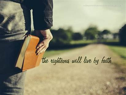 Faith Christian Righteous Romans God Righteousness Wallpapers