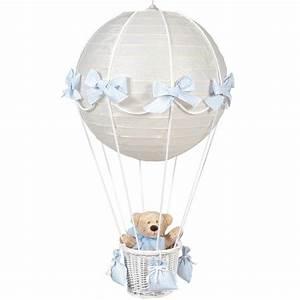 Lustre Montgolfière Bebe : luminaire bebe montgolfiere ~ Teatrodelosmanantiales.com Idées de Décoration