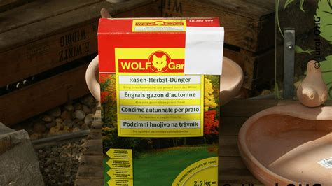 Herbst Garten Düngen by Wolf Garten Rasen Herbst D 252 Nger