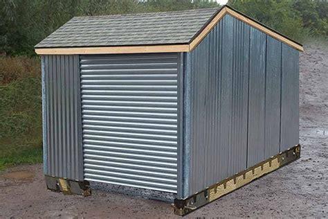 corrugated metal shed metal garden sheds steel sheds