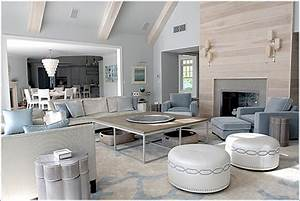 Hamptons Style Interiors Use Classic Wallpaper For