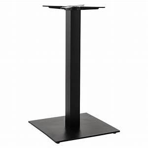 Pied De Table : pied de table hero 90cm noir ~ Teatrodelosmanantiales.com Idées de Décoration