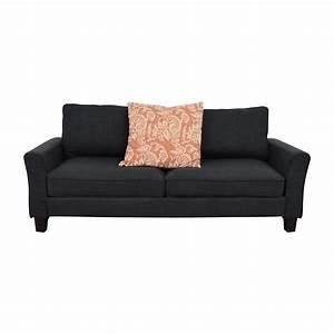 57 off joss main joss main keenan charcoal grey for Sectional sofa joss and main