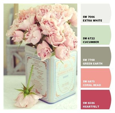shabby chic kitchen paint colors soft and simple dainty sweet girlie palette 7908