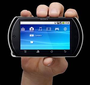 Sony PlayStation Portable Phone Design, Based on Android 2 ...