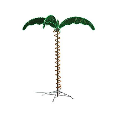 decorative palm trees with lights green longlife 8080103 decorative palm tree light