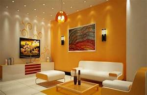 Living room decorating ideas on a budget with orange ...