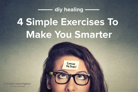 4 Simple Exercises That Can Actually Make You Smarter