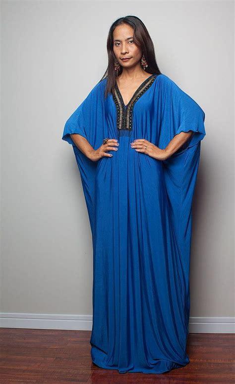 Chintami Kaftan Maxy kaftan maxi dress blue kimono maxi dress