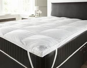 goose and down feather mattress topper single double king With double matress topper