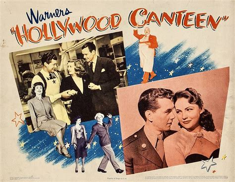 """""""Hollywood Canteen"""" (Warner Brothers, 1944). Bette Davis ..."""