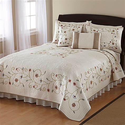 nostalgia home quilts nostalgia home lake forest quilt bed bath beyond