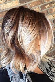 Blonde Balayage Highlights On Brown Hair