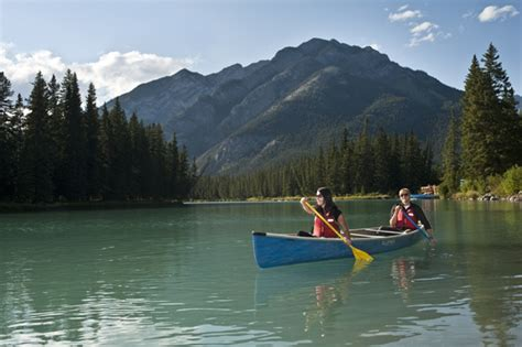 Paddle Boat Rental Moraine State Park by Banff Ab Official Website Canoeing