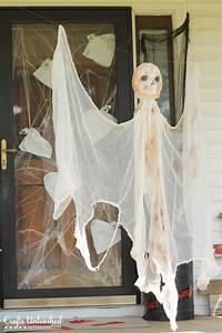 Diy, Outdoor, Halloween, Decorations, Hanging, Mummy, Ghost