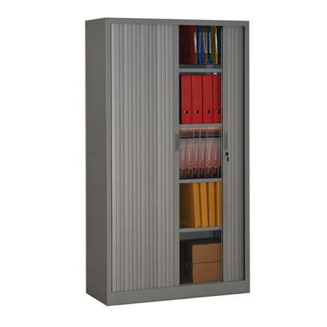casier rangement bureau armoire à rideaux hauteur 180 armoire de bureau métallique
