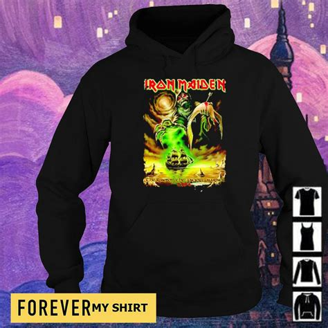 Iron Maiden the time of the ancient mariner 1984 shirt ...