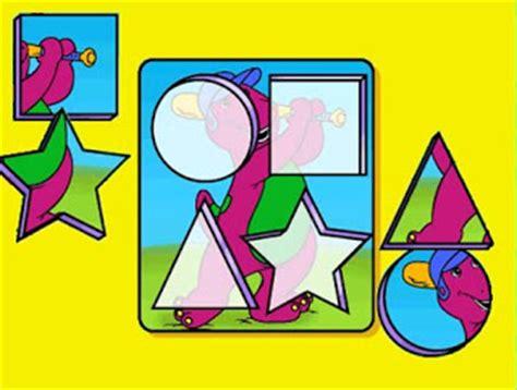 barney  sus amigos juegos fotos  canciones  musica barney  la formas geometricas