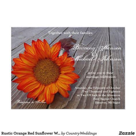 Best 25+ Red Sunflower Wedding Ideas On Pinterest