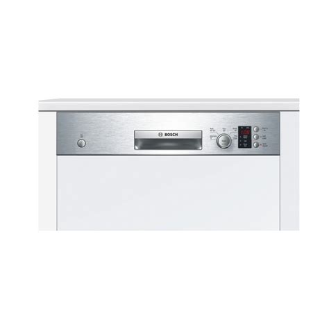 Bosch Smi50c15gb 60cm Semi Integrated Dishwasher, 12 Place