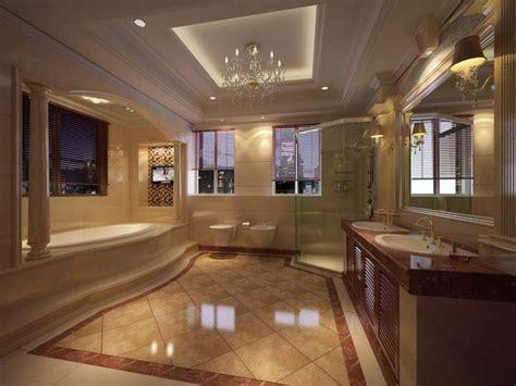 bathrooms  beautiful marble floors