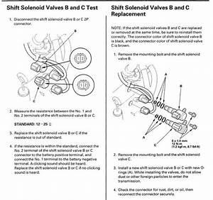 Shift Solenoid Identification 2000 Accord 2 3