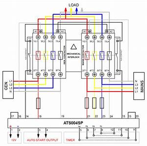 Automatic Transfer Switch Control Module  Build Your Own