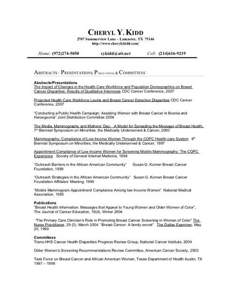 resume addendum