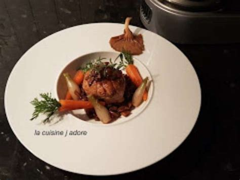 recette cuisine chef recettes de chef et veau