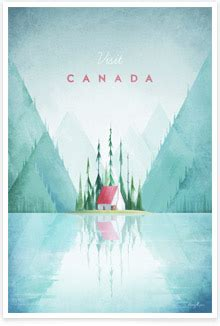 travel poster  contemporary travel posters  henry
