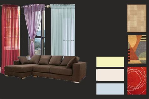 dark brown furniture combo home decoration ideas