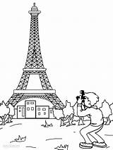 Eiffel Tower Coloring Paris Pages Printable Drawing Printables France French Mandala Wonders Cool2bkids Monuments Onlycoloringpages Adults Books Towers sketch template