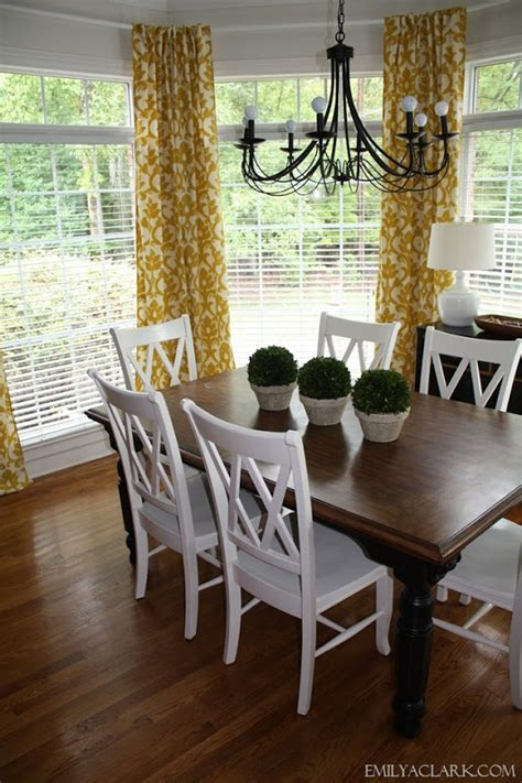 hanging curtains in a bay window s